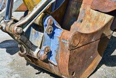 Shovel of a dredger Stock Photo