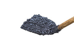 Shovel full of asphalt Royalty Free Stock Images