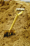 Shovel handle Stock Photography
