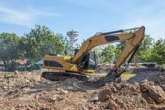 Shovel for heavy all work. For all soil royalty free stock photos
