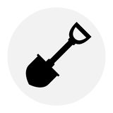 Shovel Icon Stock Photography