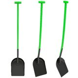 Green shovel Royalty Free Stock Photo