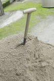 Shovel land Royalty Free Stock Image