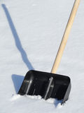 Shovel for snow cleaning Royalty Free Stock Photos