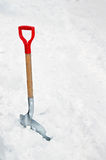 Shovel in Snow Stock Image