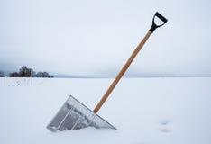 Shovel for snow removal Stock Photos