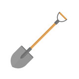 Shovel vector icon. Royalty Free Stock Image