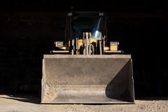 Shovel wheel loader Stock Image