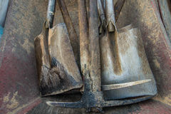 The shovel. Stock Image