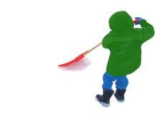 маленький shoveller Стоковое Изображение RF