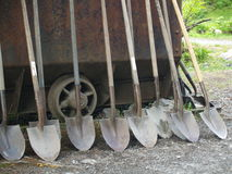 Shovels Royalty Free Stock Images