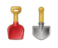Shovels Royalty Free Stock Image