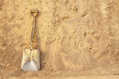 Shovels for constrution Stock Photography