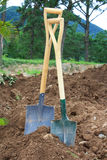 Shovels Royalty Free Stock Photos