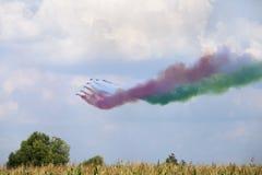 Show aereo Immagini Stock