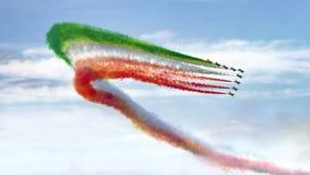 Show aereo 2015 Immagini Stock