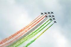 Show aereo fotografie stock libere da diritti