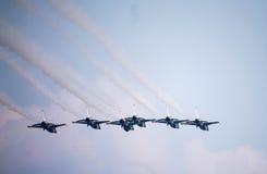 Show aereo dei Thunderbirds Immagine Stock Libera da Diritti