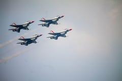 Show aereo dei Thunderbirds Immagini Stock Libere da Diritti