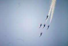 Show aereo dei Thunderbirds Fotografia Stock Libera da Diritti