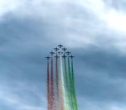 Show aereo 2014 di Roma Immagine Stock