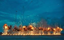 Show aereo internazionale 2017 di Bucarest fotografie stock libere da diritti