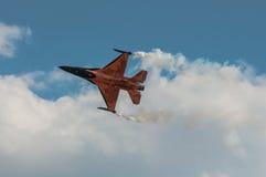 Show aereo 2013, Radom 30 agosto 2013 Fotografia Stock Libera da Diritti
