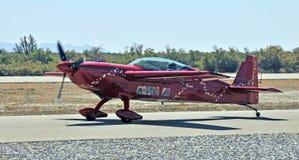 Show aereo termico: Aeroplano illimitato della concorrenza 300 extra Immagini Stock Libere da Diritti