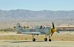 Show aereo termico: Eagle Squadron rosso immagine stock