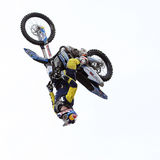 Show announcing world championship in FMX Royalty Free Stock Photo