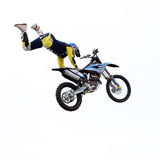 Show announcing world championship in FMX Stock Photo