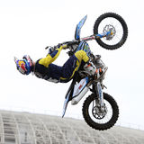 Show announcing world championship in FMX Royalty Free Stock Photography