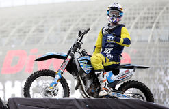 Show announcing world championship in FMX Stock Images