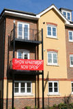 Show Apartment Now Open Stock Images