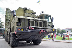 Show of army equipment Stock Photography