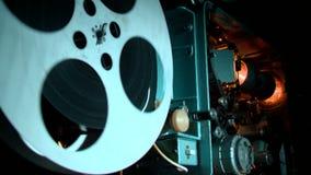 Show av filmen, biokorridor Arkivbilder