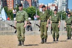 Show av Marine Corps Royaltyfria Foton