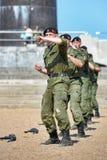 Show av Marine Corps Royaltyfri Foto