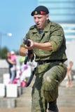 Show av Marine Corps Royaltyfri Bild