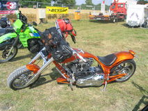 Show bike. In Ringengen Harley Festival 2006, Germany. Europe royalty free stock images