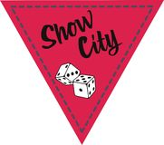 Show city Royalty Free Stock Photos