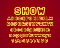 Show city color blue font. stock illustration