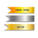 Show Colorful Ribbon Promotional Products Design, Vector Royalty Free Stock Image