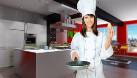 Show cooking Royalty Free Stock Photos