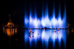 Show curtain water Royalty Free Stock Photography