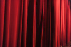 Show curtains Stock Images