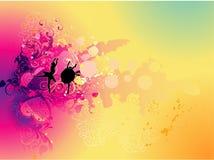 Show dance illustration stock illustration