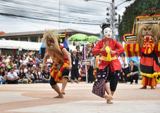 Show Dance from Indonesia royalty free stock photos
