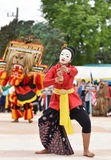 Show Dance from Indonesia royalty free stock photo