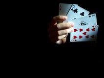 Show der Hand Stockfoto